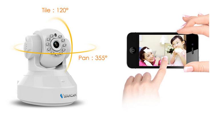camera ip vstarcam C37A 6
