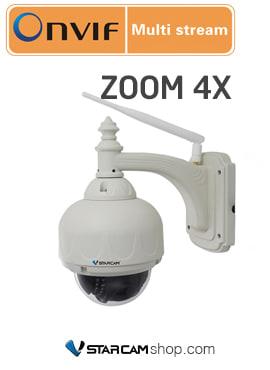 Camera wifi ngoài trời Vstarcam C33-X4 chống nước