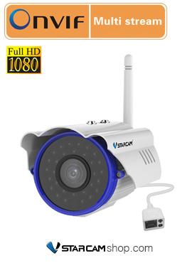 Camera wifi ngoài trời chống nước Vstarcam C15S
