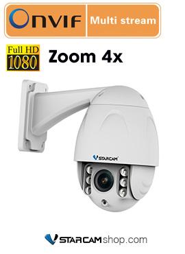 Camera wifi ngoài trời chống nước Vstarcam C34S-X4