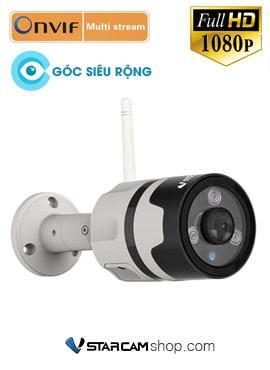 Camera wifi ngoài trời VStarcam C63S góc siêu rộng