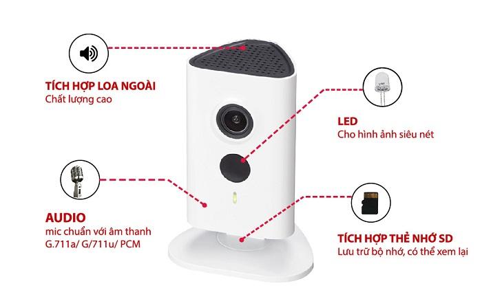 Camera IP Wifi Dahua IPC-C15P