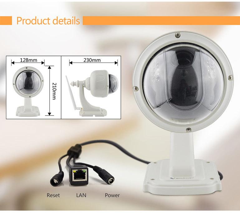 Cách sử dụng camera wifi ngoài trời Vstarcam C33 X4